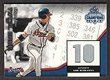 2003 Donruss Champions Baseball Total Game JERSEY Chipper Jones 152/200 Braves