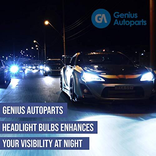 Ampoules de phares xénon lumineux  DIY, Kit simple d'utilisation   Compatible H11 H7 H7