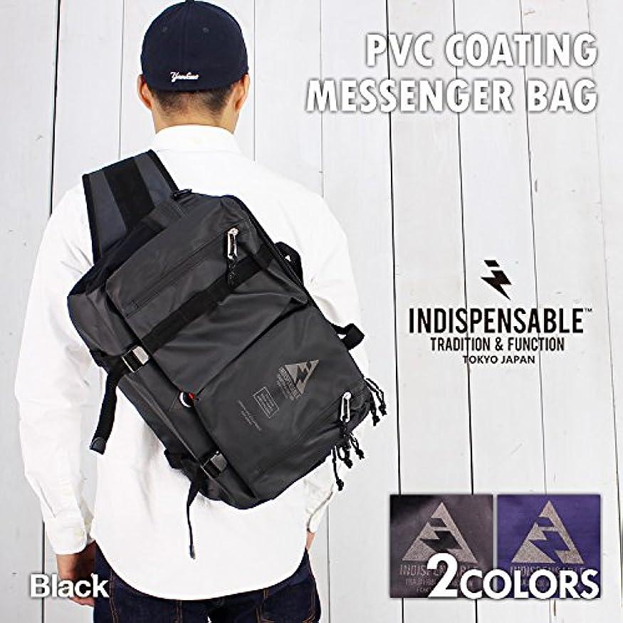 親愛な立派な釈義[インディスペンサブル] メッセンジャー バッグ FIXTURE メンズ メンズ ショルダーバッグ ボディバッグ 鞄 斜めがけバッグ 多機能 撥水 カメラ 大容量 ブラック