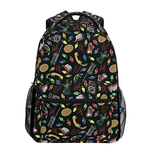 Backpacks Stranger Things College School Book Bag Travel Hiking Camping Daypack