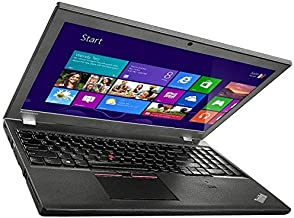 "Lenovo Thinkpad T550 - 15.6"" HD Display - Intel Core i5 (5300U) 2.3GHz - 256GB SSD - 8GB RAM - Webcam - WiFi - Windows 10 ..."
