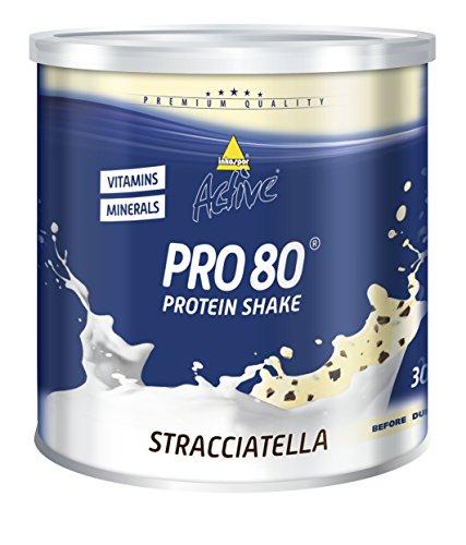 Inkospor Active Pro 80 Protein Shake, Stracciatela, 750g Dose