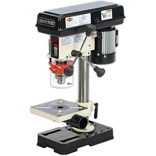 Shop Fox W1667 1/2 HP 8-1/2-Inch Bench-Top Oscillating Drill Press