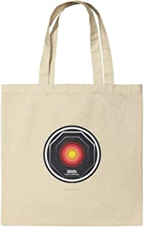 2001: A Space Odyssey Hal Grocery Travel Reusable Tote Bag Small Multi TOTE.SM.NAT.WBGAM001.Z004762_8