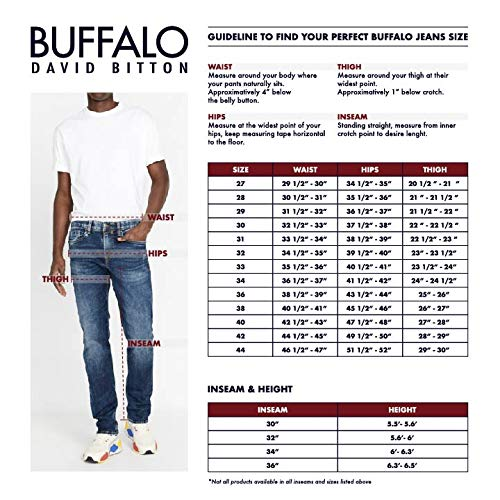 Product Image 3: Buffalo David Bitton Men's Ash-x Slim Fit Denim Jean