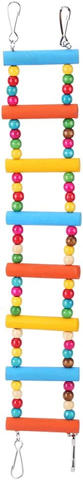 Parrot Ladder All stores are sold Swing Pet Bird Hamster Climb Colorful Funny Wooden Denver Mall