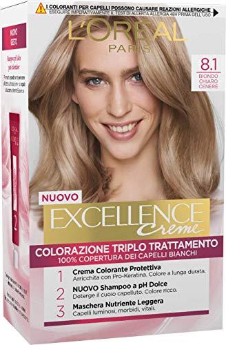 EXCELLANCE N.8,1 biondo chiaro cenere - Die Haarfarbstoffe