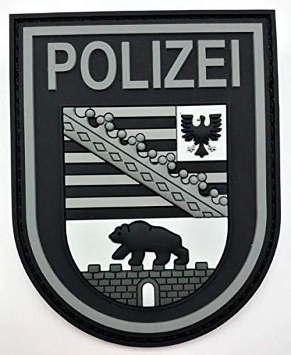 Polizei Sachsen-Anhalt Black Ops Rubberpatch mit Klett