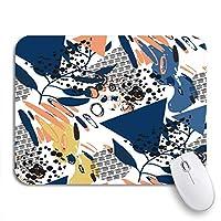 可愛いマウスパッド カラフルな六角形のハニカムパターングレー抽象添付蜂接続ノンスリップゴムバッキングノートブック用マウスパッドマウスマット