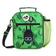 Tinc Kids Insulated Lunch Bag for Boys & Girls With Adjustable Strap & Bottle Holder   Water Resista...