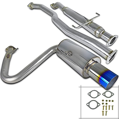 Spec-D Tuning Jdm 2.5' Inlet Ss Catback Exhaust System for 2005-2010 Scion Tc