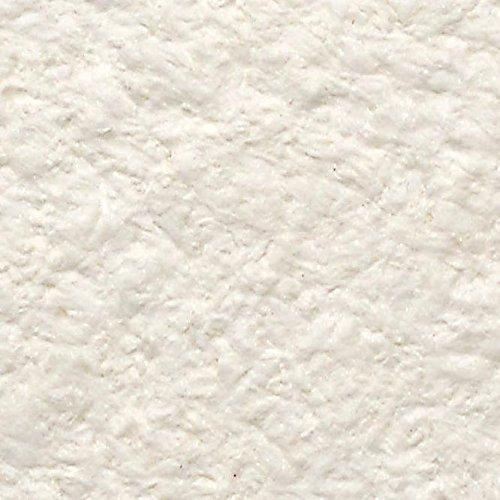 3,5 m² Baumwollputz weiß - sehr gute Qualität, mittlere Struktur, natürliche Wandbeschichtung aus Baumwolle - Tapete / Textiltapete aus Baumwolle auch bekannt als Flüssigtapete,Dekorputz, Streichputz oder Wollputz