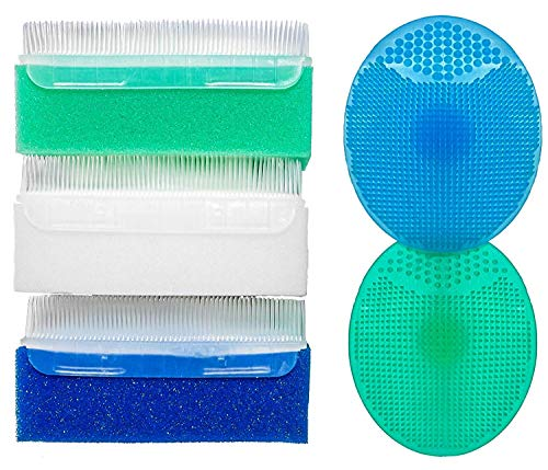 Baby Sponge for Bathing | Extra Soft Cradle Cap Brush |...