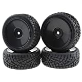 Rowiz 4PCS 1:10 On Road RC Tires 12mm Hub Wheel Rims Concentric...
