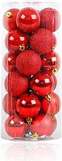 ALIMITOPIA 24pcs Christmas Ball Baubles,1.6