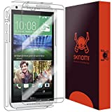 Skinomi Full Body Skin Protector Compatible with HTC Desire 816 (Screen Protector + Back Cover) TechSkin Full Coverage Clear HD Film