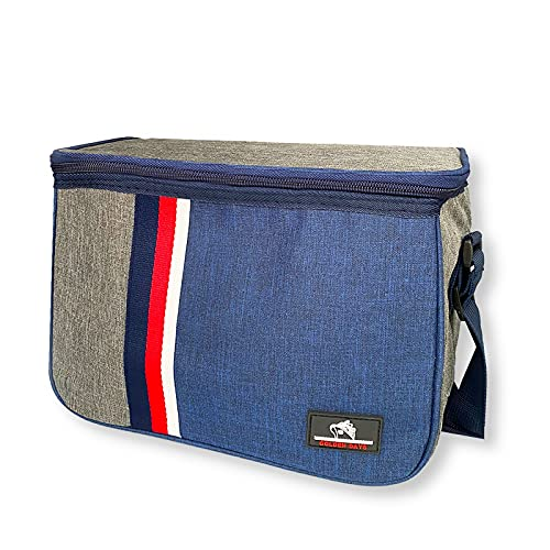 Bolsa termica porta alimentos para llevar comida o bebida de 10 litros, ideal para camping piscina o playa, bolsa para mantener bebida fría, bolsa de almuerzo, bolsa reutilizable impermeable
