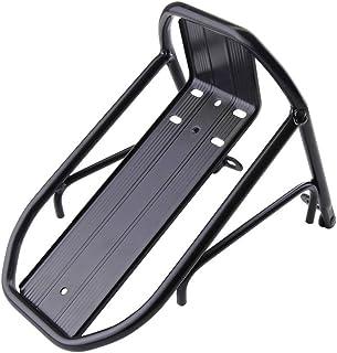 PrimeMatik - Estructura metálica de portaequipajes Delantero para Bicicleta