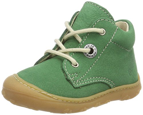 RICOSTA Unisex Kinder Cory Sneaker, Grün (Grün 558), 18 EU