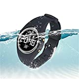 Hootracker Orologio da Polso Smart Watch Fitness Tracker Impermeabile IP68,Contapassi, Calorie,...