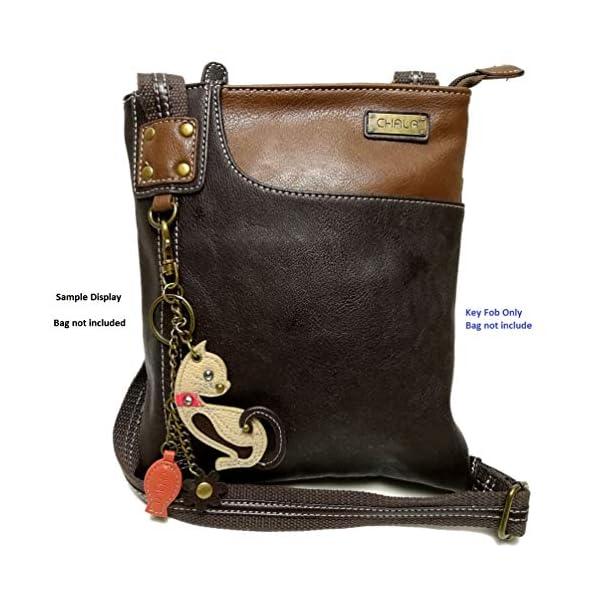 Chala Mini Purse Charm, Animal Key Fob for Chala Handbags
