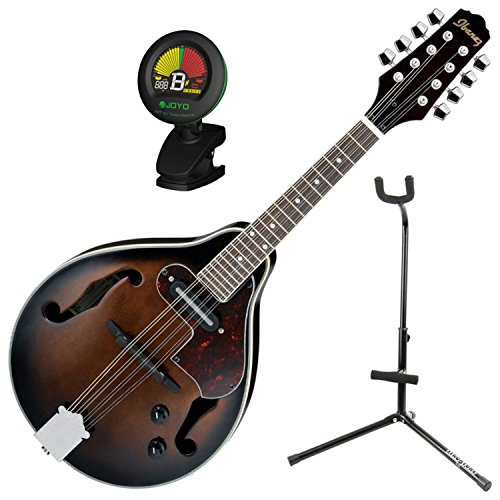 Ibanez M510EDVS A Style Acoustic Electric Mandolin Dark Violin Sunburst w/Stand
