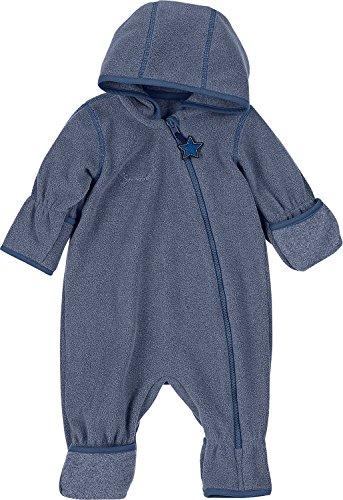 Sterntaler Fleece-Overall Fleece blau Größe 56