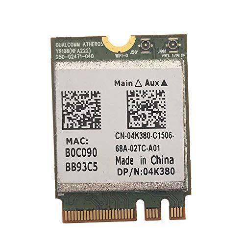 QCNFA222 AR5BWB222 802.11a/b/g/n 300Mbps 2.4/5GHz Bluetooth BT4.0 WiFi WLAN Card for Atheros...