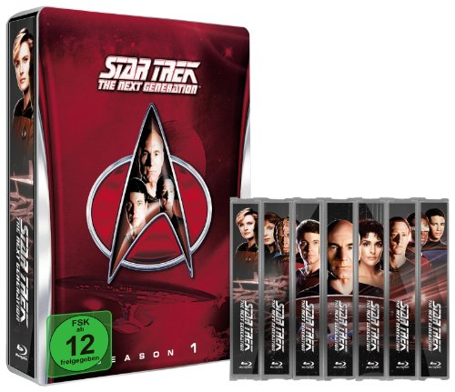 Star Trek: The Next Generation - Season 1 (Steelbook, exklusiv bei Amazon.de) [Blu-ray] [Limited Collector's Edition] [Limited Edition]