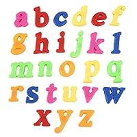 ミニステッカー英語文字アラビア数字子供子供教育ギフト多色