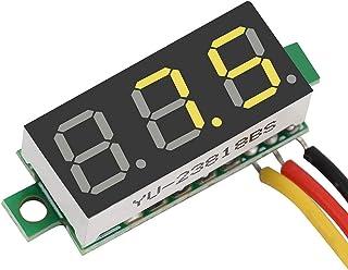 Digitale LED-voltmeter, eenvoudig aan te sluiten DC-voltmeter Digitaal 0,28 ″ Duidelijk leesbaar voor kinderauto's voor mo...