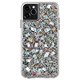 Case-Mate - iPhone 11 Pro Max Case - Karat - Real Mother of Pearl & Silver Elements - 6.5 - Mother of Pearl