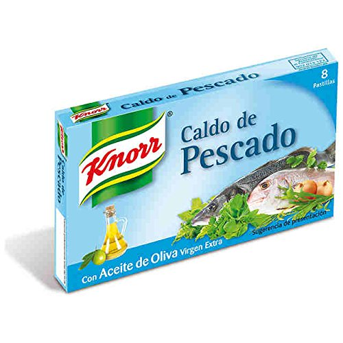 Knorr Fish Bouillon Cubes in Extra Virgin 8 Olive Pack Gr San Francisco Mall Outlet ☆ Free Shipping Oil 80