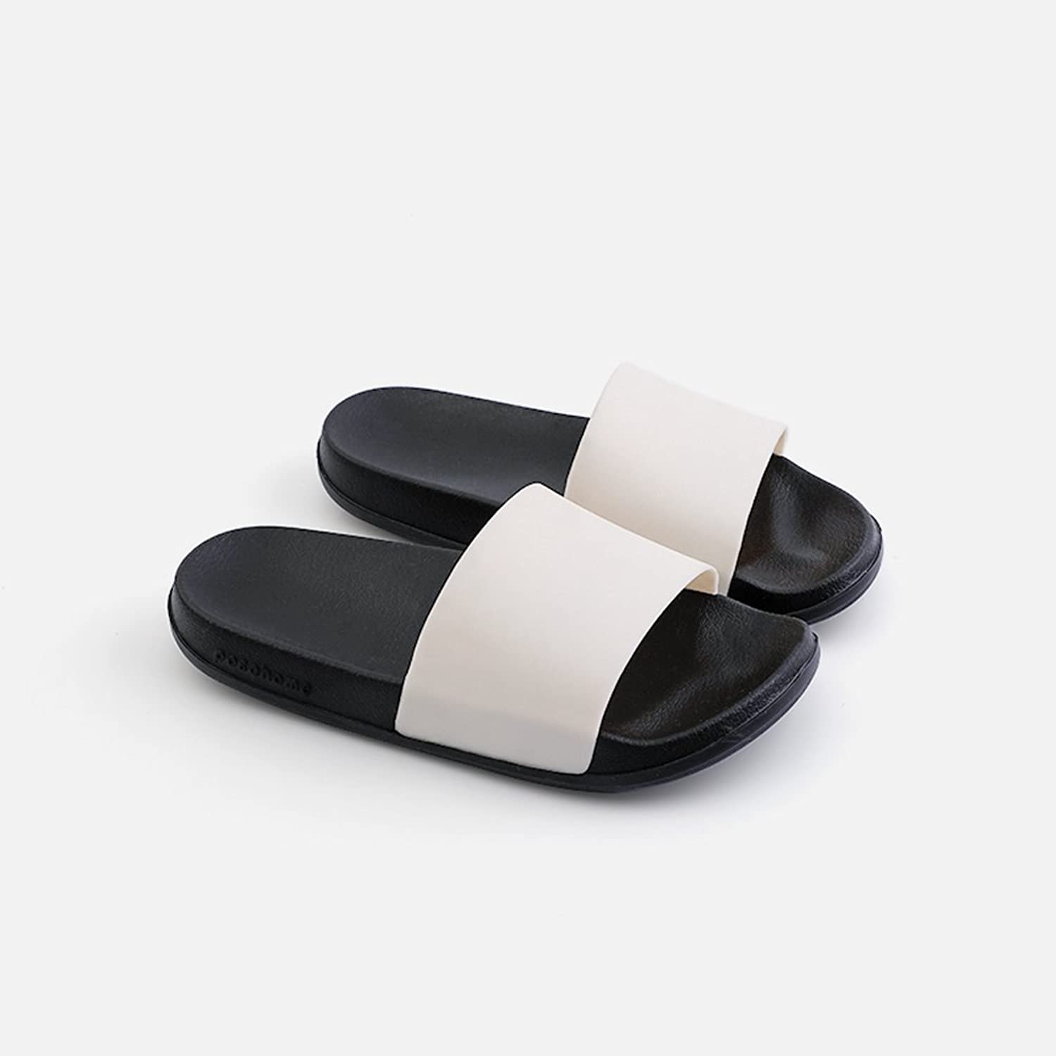 Lilongjiao Female Slippers Set Indoor House Non-Slip Shower Sandals Swimming Pool Water shoes Bath Slippers Thick