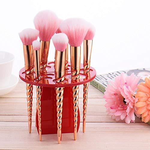 Support De Stockage De Maquillage Brosse De Séchage Support De Brosse Support De Support Acrylique Organisateur De Maquillage Brosse Arbre Rond Outil De Maquillage