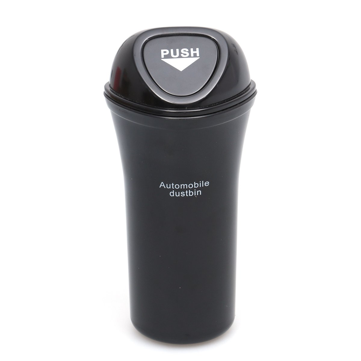 Allcaca Pop-up Leakproof Car Trash Can Multi-purpose Car Garbage Holder for Traveling Black Collapsible Storage Box