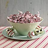 HERSHEY'S KISSES Christmas Candy Cane Chocolate Mint Candy with Peppermint Stripes, Christmas Decorations, 33 oz. Bag