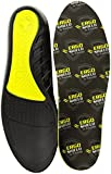 Powerstep unisex adult Ergoshield Anti-fatigue Insoles Insole, Black, Men s 13-14.5 US