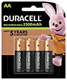 Duracell AA 2400mAh 4 Pack Batterie Rechargeable Hybrides Nickel-métal (NiMH) 1,2 V - Batteries...