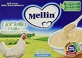 Mellin Liomellin Pollo Liofilizzato - 3 Vasetti da 10 g...