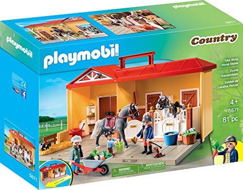 PLAYMOBIL- Country Juguete, Juego de rol, Color Colorido, Ta