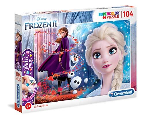 Puzzle 104 Piezas con Joyas Frozen 2 (20164.8)