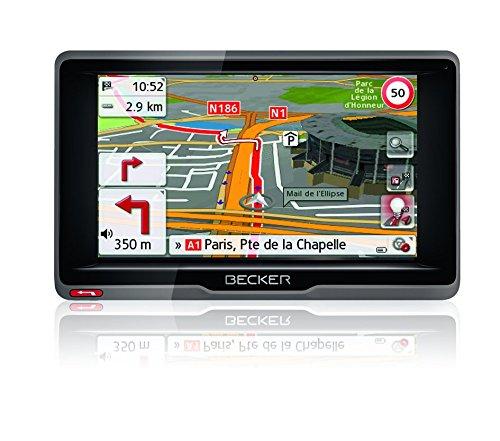Becker ready.5 EU Fußball-Edition Navigationsgerät (12,7 cm (5 Zoll) Bildschirm, 45 Länder vorinstalliert, Fußball-POIs, Lebenslange Kartenupdates, TMC, MagClick Aktivhalter)