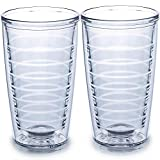 2-pack Insulated Tumblers 16 Ounce - Drinking Glasses...