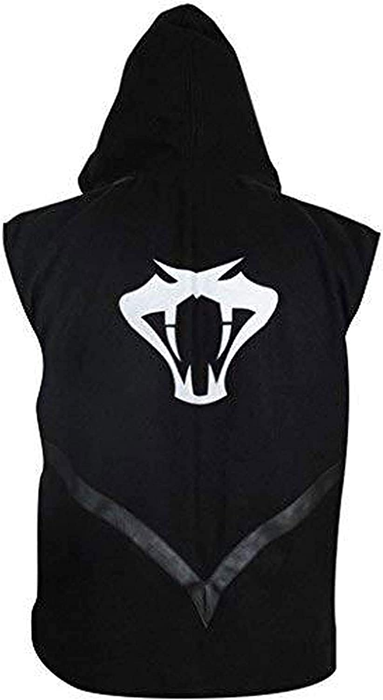 FSKCLOTHING New Mens Wrestling Cotton Hooded Vest
