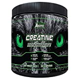 Creatine Monohydrate Powder 252g - Premium Grade Creatine Monohydrate - UK Made - Unflavoured Creatine Powder Scoop Included