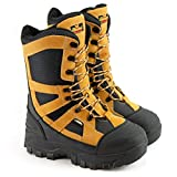 Thorogood Men's 861-4071 12' Endeavor Extreme, Non-Safety Toe Boot, Black and Tan - 8 W US