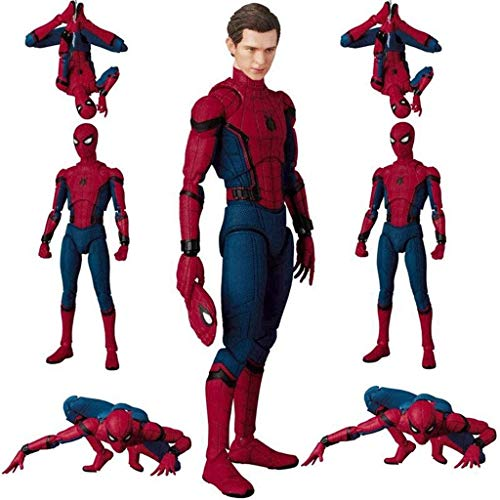 Yxsd Toys Avengers 3/4 Titan Hero Series 6-inch Spiderman Action Figure Joint Movable Toys - Children's Birthday Gift Collection - Home Car Decoration