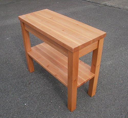Holztisch,Beistelltisch Erle massiv. Leila Maße: 70x30x60cm. Auch in Wildeiche,Kernbuche und Kirschbaum zu bekommen ! Maßanfertigung !