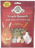 Oxbow Simple Rewards - Golosinas para horno con zanahorias, eneldo y heno Timothy